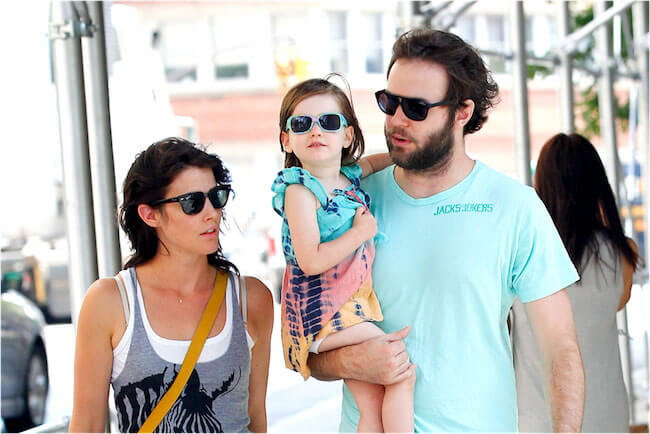 Cobie Smulders with family