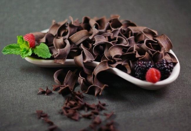 Dark Chocolate containing cocoa