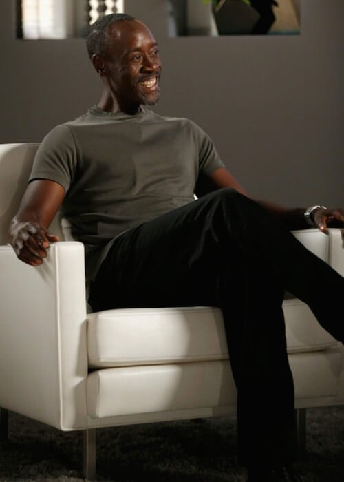 Don Cheadle at the show 'Actors on Actors' presented by Autograph Collection Hotels on March 29, 2015 in Los Angeles, California