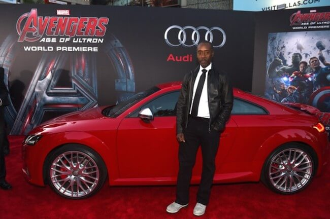 Don Cheadle attends The World Premiere of 'Avengers: Age Of Ultron' at Dolby Theatre on April 13, 2015 in Hollywood, California