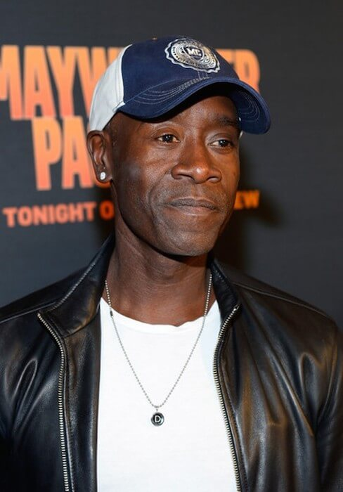 Don Cheadle attends the pre-fight party hosted by SHOWTIME and HBO VIP for Floyd Mayweather Vs Manny Pacquiao at MGM Grand Hotel & Casino on May 2, 2015 in Las Vegas, Nevada