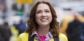 "Ellie Kemper in a still from ""Unbreakable Kimmy Schmidt"""