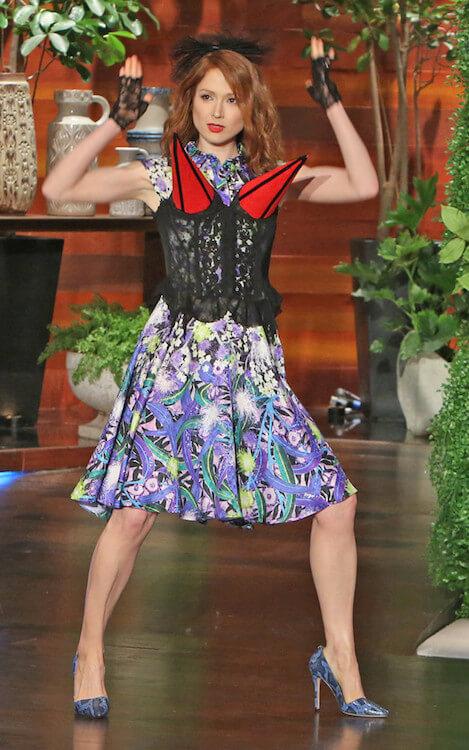 Ellie Kemper during The Ellen DeGeneres Show 2015