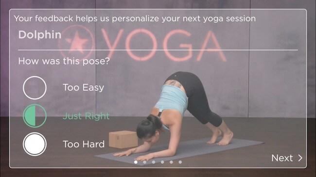 FitStar Yoga fitness app