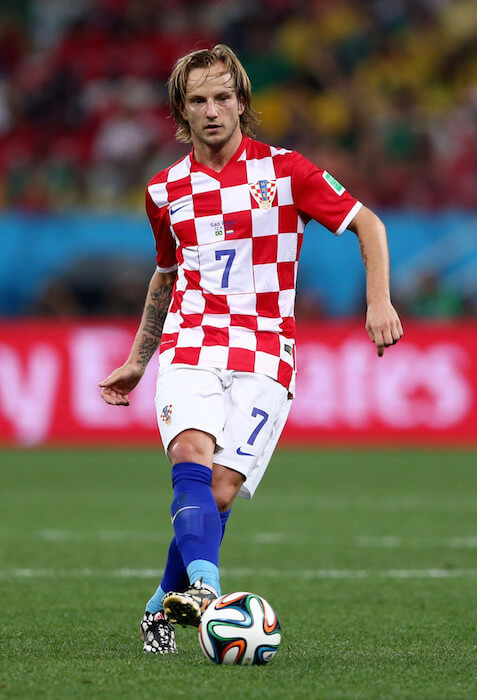 Ivan Rakitic in Brazil vs Croatia Group A Match in FIFA World Cup 2014