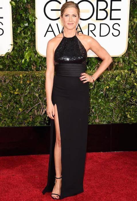 Jennifer Aniston during Golden Globe Awards 2015