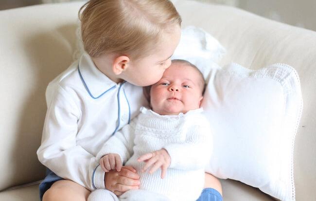Kate Middleton kids - Prince George and Princess Charlotte