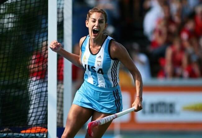 Luciana Aymar, Hockey, Argentinean