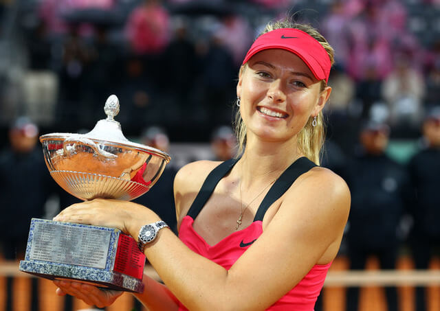 Maria Sharapova, Tennis, Russian