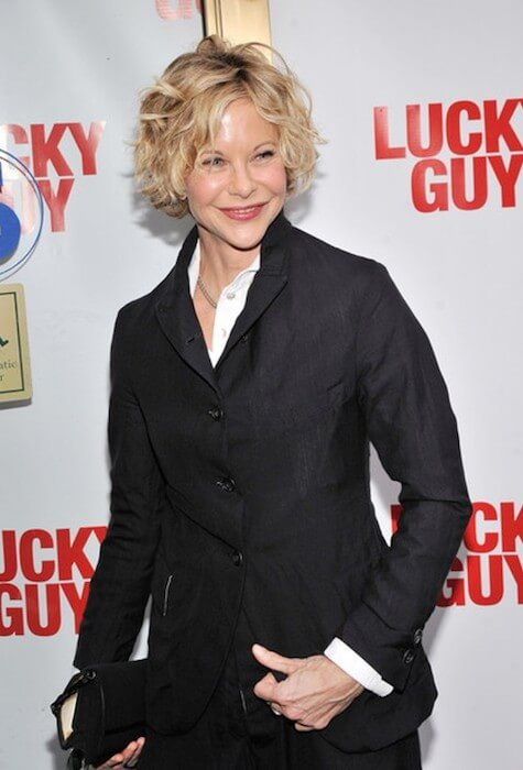 Meg Ryan attends the 'Lucky Guy' Broadway Opening Night at The Broadhurst Theater on April 1, 2013 in New York City