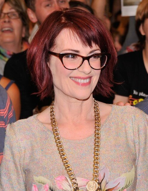 Megan Mullally attends the 'It's Only a Play' first performance at The Schoenfeld Theatre in New York City on August 28, 2014