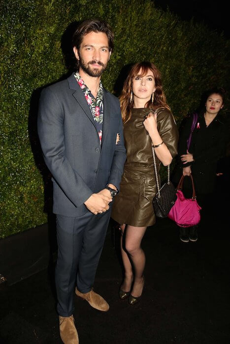 Michiel Huisman and Tara Elders at Chanel's Tribeca Film Festival Artists Dinner 2015
