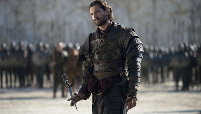Michiel Huisman as Daario Naharis in Game of Thrones