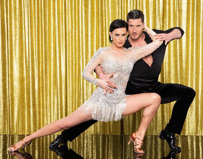 "Rumer Willis with her ""Dancing with the Stars"" partner Valentin Chmerkovskiy"