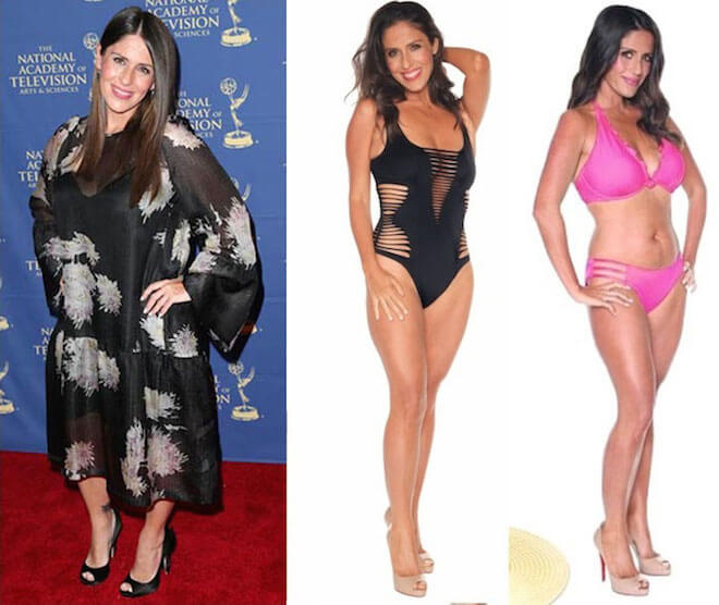 Soleil Moon Frye before and after