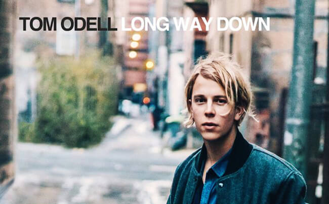 "Tom Odell's debut album ""Long Way Down"""