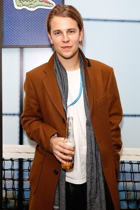 Tom Odell attends the Lacoste VIP Lounge at the ATP World Finals 2014 at O2 Arena on November 16, 2014 in London, England