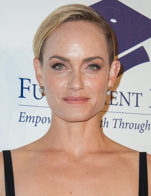 Amber Valletta at the 20th Annual Fulfillment Fund Stars Benefit Gala at The Beverly Hilton Hotel on October 14, 2014 in Beverly Hills, California