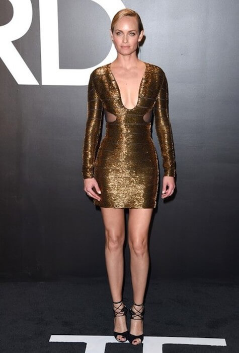 Amber Valletta appears at the Tom Ford Autumn / Winter 2015 'Womenswear Collection Presentation' at Milk Studios, Hollywood, California on February 20, 2015.