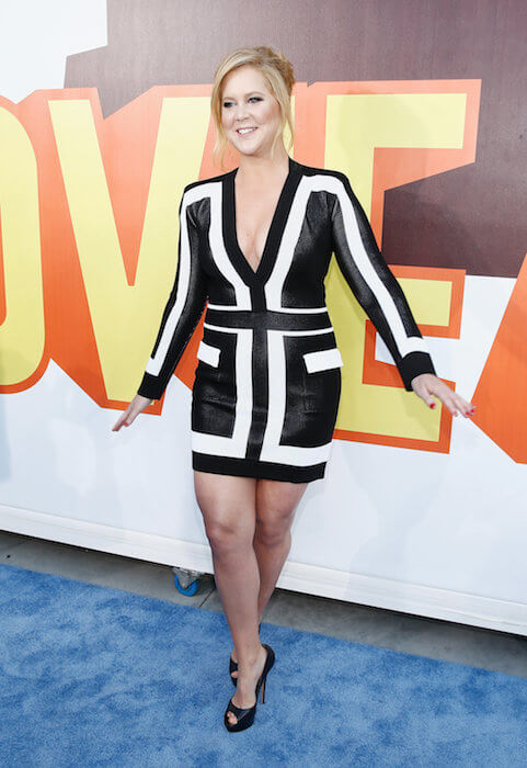 Amy Schumer at The 2015 MTV Movie Red Carpet Awards