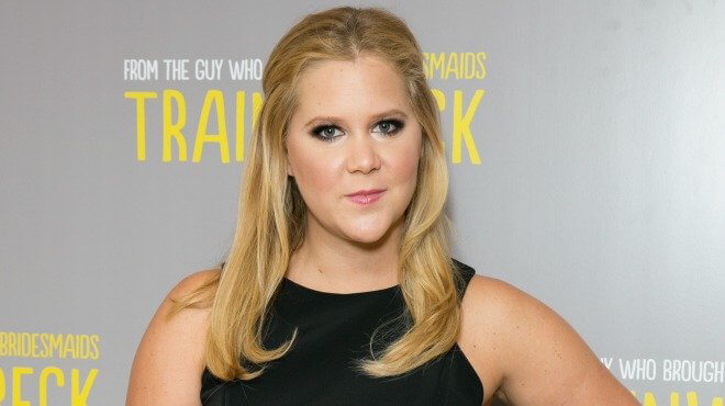 Amy Schumer while promoting trainwreck