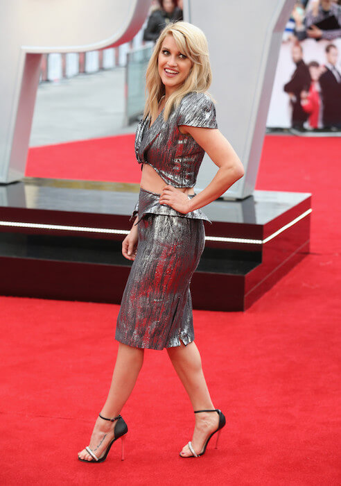 "Ashley Roberts attends the UK premiere of ""Spy"" at Odeon Leicester Square on May 27, 2015"