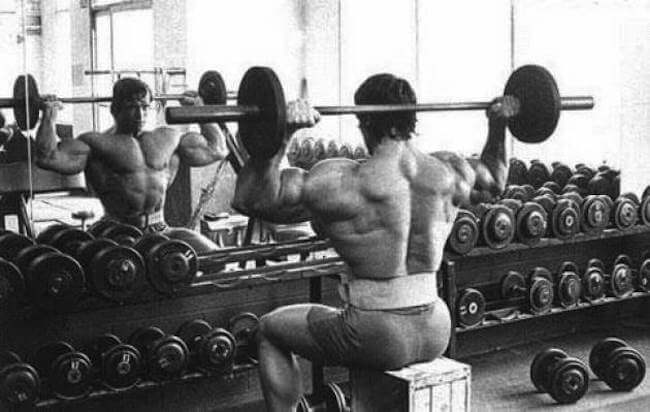 Avoid Heavy, Behind The Neck Presses