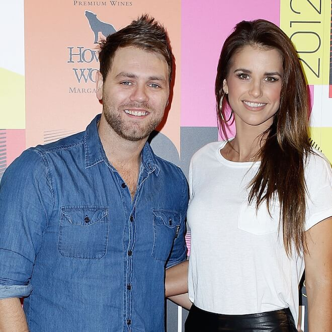 Brian McFadden & Vogue Williams