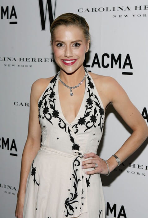 Brittany Murphy arrives at the Inaugural Avant-Garde Gala hosted by W Magazine & LACMA on March 8, 2008 in Los Angeles, California