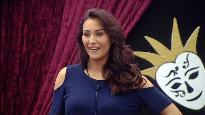 Chloe Goodman during her stay at Celebrity Big Brother