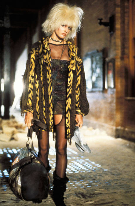 Daryl Hannah as Pris in Blade Runner, one of her iconic roles (1982)