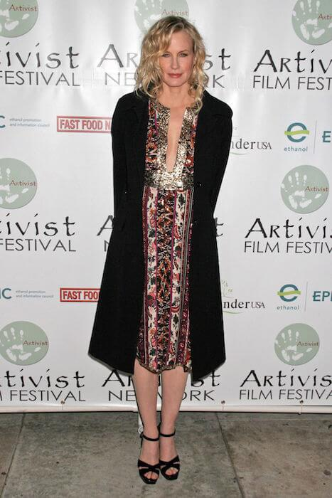 Daryl Hannah looking chic at 2006 Artivists Awards at Egyptian Theatre in Artivist Film Festival.