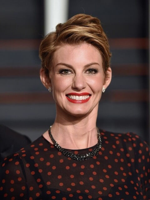 Faith Hill appear at the Vanity Fair Oscar Party in Los Angeles on February 22, 2015