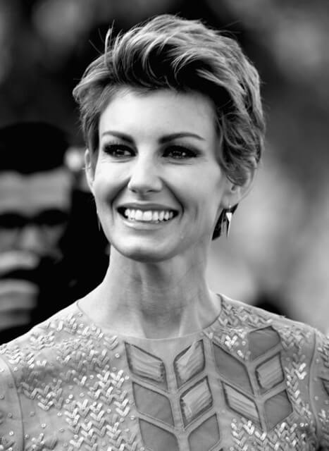 Faith Hill arrives at the Premiere Of Disney's 'Tomorrowland' at AMC Downtown Disney 12 Theater on May 9, 2015 in Anaheim, California