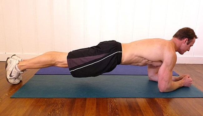 Finish with a Plank