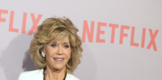 "Jane Fonda attends Netflix's ""Grace & Frankie"" Q&A Screening Event at Pacific Design Center on May 26, 2015 in West Hollywood, California"