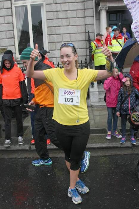 Kathryn Thomas during The VHI Mini Marathon at Dublin, Ireland in June 2015