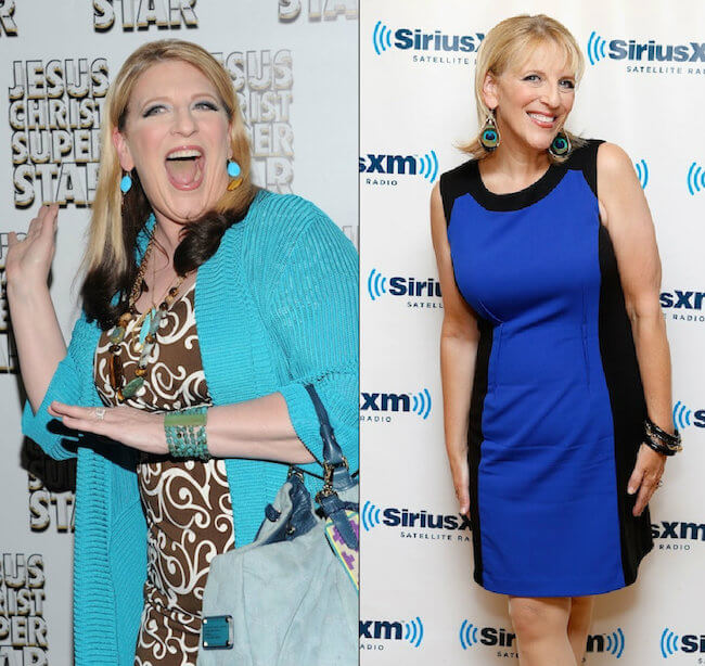 Lisa Lampanelli 'before' and 'after'