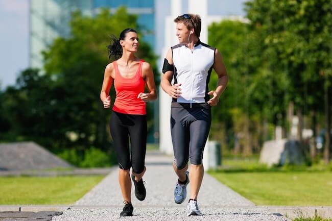 Long and slow exercise burns more calories