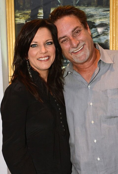 Martina McBride and husband producer John McBride attend the 'The Ringmaster General' premiere on August 22, 2012 in Nashville, Tennessee
