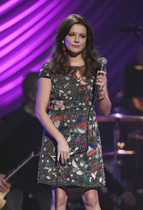 Martina McBride performing at the 19th annual Keep Memory Alive 'Power of Love' Gala benefit on June 13, 2015 at Las Vegas, Nevada