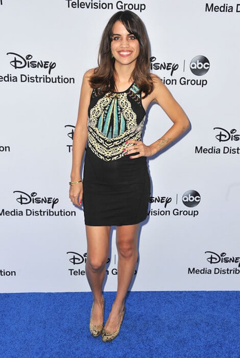 Natalie Morales during the Disney Media Networks International Upfronts at Walt Disney Studios on May 19, 2013 in Burbank, California