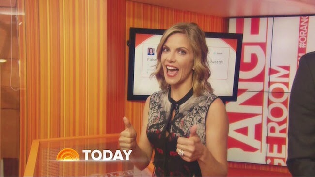 Natalie Morales at Today