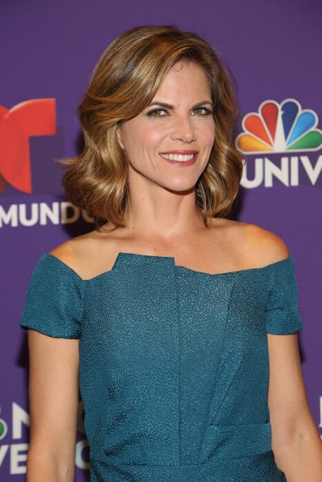 Natalie Morales attends the 2015 Telemundo and NBC Universo Upfront at Lincoln Center on May 12, 2015 in New York City