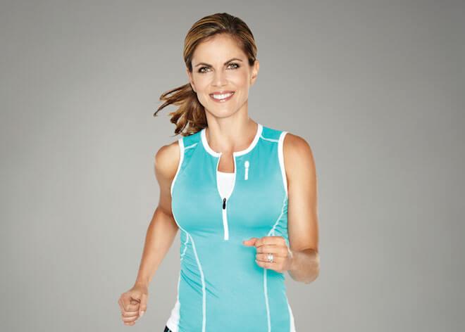 Natalie Morales running