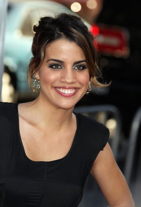 Natalie Morales at the 'Going the Distance Los Angeles' premiere at Grauman's Chinese Theatre in Hollywood on August 24, 2010