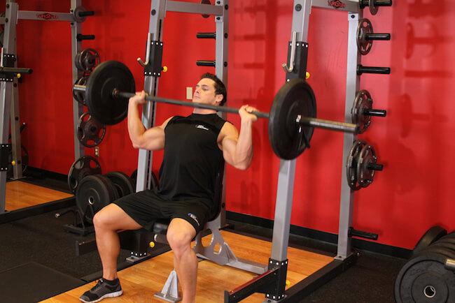 Barbell Shoulder Press Alternative Barbell Shoulder Press