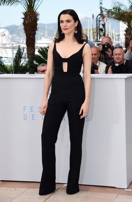 Rachel Weisz arrives for a photo shoot for 'The Lobster' during the 68th annual Cannes Film Festival on May 15, 2015 in Cannes, France