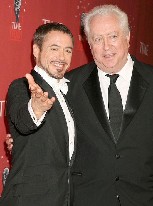 Robert Downey Sr. and Robert Downey Jr.