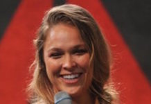 Ronda Rousey during Reebok UFC Fight